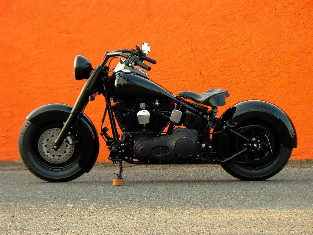 harley davidson fat boy motobike cottbus. Black Bedroom Furniture Sets. Home Design Ideas